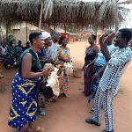 Cérémonie du QRD au Bénin